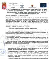ACTA DE SELECCIÓN PLAN EXTRAORDINARIO POR EL EMPLEO