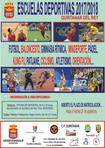 CARTEL ESCUELAS 17-18