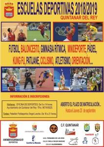 CARTEL ESCUELAS 18-19