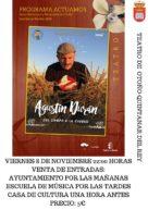 Agotadas las entradas para Agustín Durán