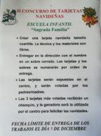 Concurso tarjetas navideñas CAI Sagrada Familia