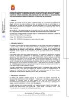 Contrato de suministro e instalación del césped artificial del campo de fútbol municipal