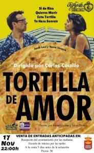 cartel tortilla de amor