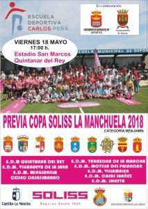 COPA SOLISS LA MANCHUELA. TORNEO PREVIO