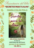Presentación libro: Secretos para tu alma