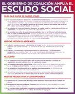 Escudo social del Gobierno de España